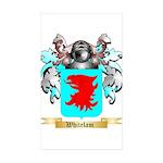 Whitelam Sticker (Rectangle 50 pk)