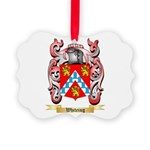Whiteing Picture Ornament