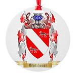 Whitehouse Round Ornament