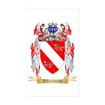 Whitehouse Sticker (Rectangle 50 pk)