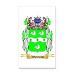 Whitehead Rectangle Car Magnet