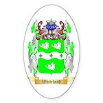Whitehead Sticker (Oval 50 pk)