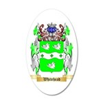 Whitehead 35x21 Oval Wall Decal