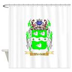 Whitehead Shower Curtain