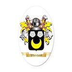 Whitehand Oval Car Magnet
