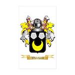 Whitehand Sticker (Rectangle 50 pk)