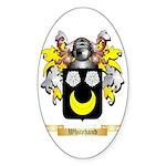 Whitehand Sticker (Oval)