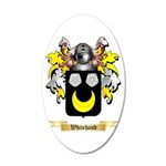 Whitehand 20x12 Oval Wall Decal
