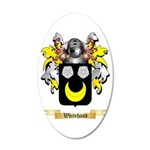 Whitehand 35x21 Oval Wall Decal