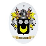 Whitehand Oval Ornament