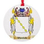 Whitefield Round Ornament