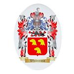Whitecross Oval Ornament