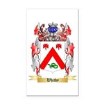 Whitby Rectangle Car Magnet