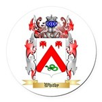 Whitby Round Car Magnet
