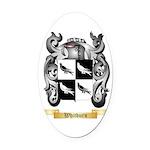 Whitburn Oval Car Magnet
