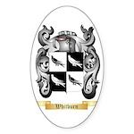 Whitburn Sticker (Oval 50 pk)