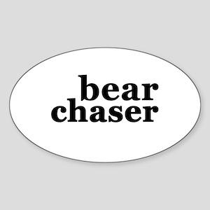 Bear Chaser Sticker (Oval)