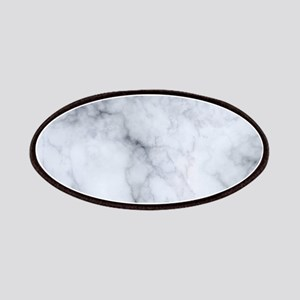 Gray Marble Texture Print Patch