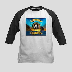 Blackbeard Where be the Treasure Baseball Jersey
