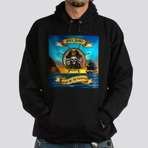 Blackbeard Where be the Treasure Hoodie