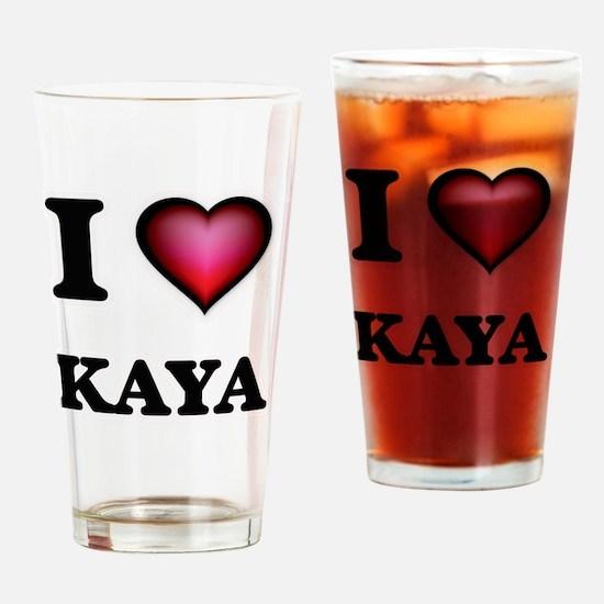 Cute Kaya Drinking Glass