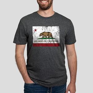 california flag los angeles distressed T-Shirt