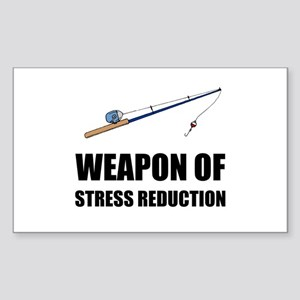 Weapon of Stress Reduction Fishing Sticker
