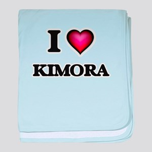 I Love Kimora baby blanket