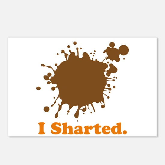 I Sharted Postcards (Package of 8)