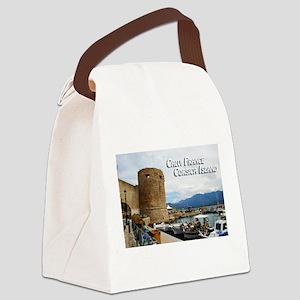 Calvi France Corsica Island Canvas Lunch Bag