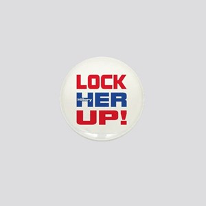 HILLARY LOCK HER UP Mini Button
