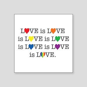 Love Is Love Sticker