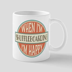 happy shuffleboarder Mug