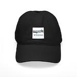 Logo Baseball Hat Black Cap