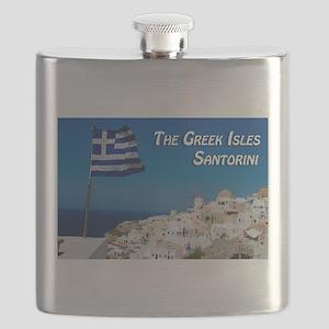 The Greek Isles Santorini Flask