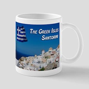 The Greek Isles Santorini Mugs