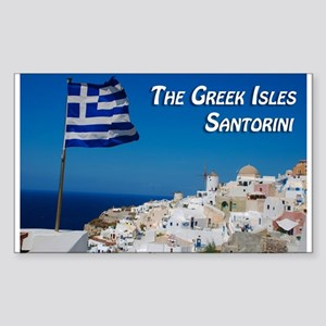 The Greek Isles Santorini Sticker