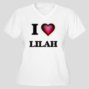 I Love Lilah Plus Size T-Shirt