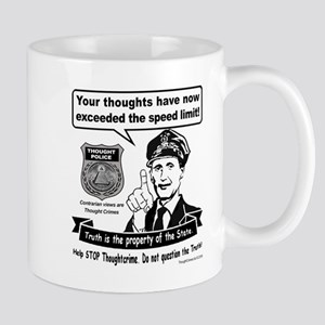 Thought Crime Mugs