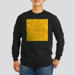 Timber Section Background Long Sleeve T-Shirt
