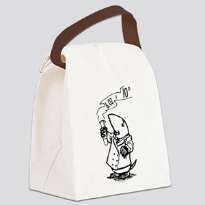 chemistry mole Avogadro's number Canvas Lunch Bag