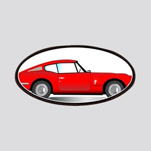 Old Hard Top Sports Car Patch