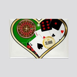 Love Gambling Magnets