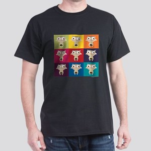 Ice Age Scrat Squares Dark T-Shirt