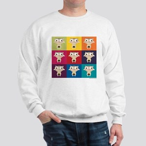 Ice Age Scrat Squares Sweatshirt