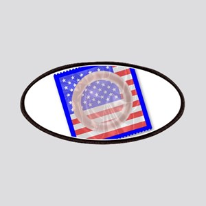 Stars And Stripes Condom Patch