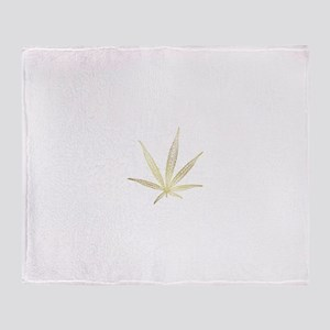 cannabis Throw Blanket