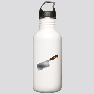 Typical Meat Cleaver Stainless Water Bottle 1.0L