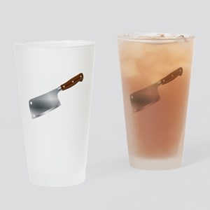 Typical Meat Cleaver Drinking Glass