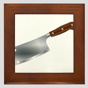 Typical Meat Cleaver Framed Tile